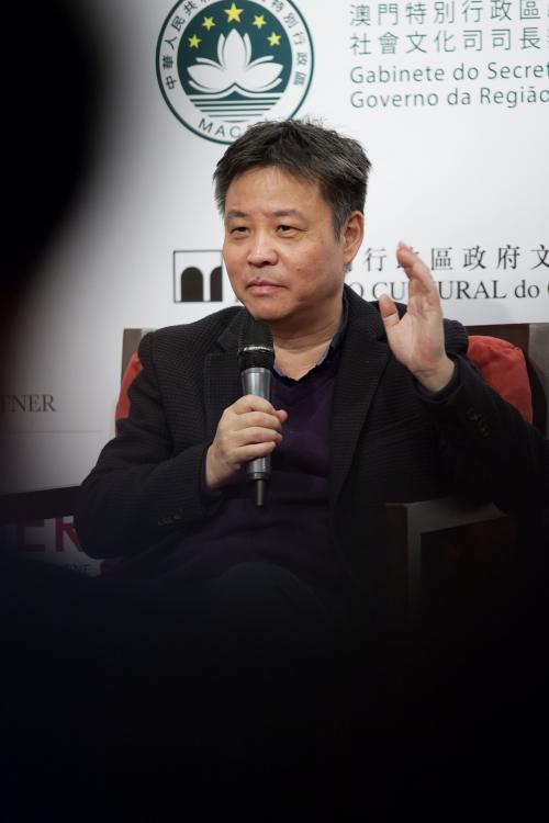 YU HUA - PHOTO EDUARDO MARTINS  - MACAU LITERARY FESTIVAL 1