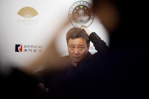 YU HUA - PHOTO EDUARDO MARTINS  - MACAU LITERARY FESTIVAL 2